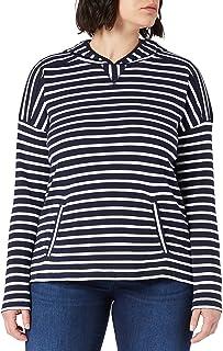 Armor Lux Marinière À Capuche T-Shirt Femme