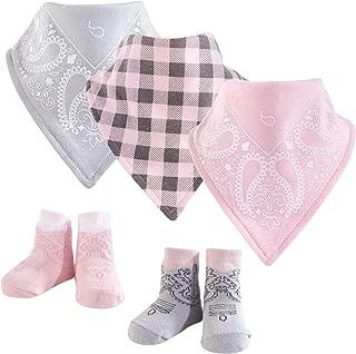 Unisex Baby Bandana Bibs and Socks