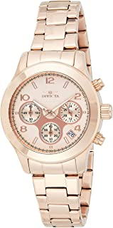Invicta Women's Quartz Watch, Chronograph Display and Stainless Steel Strap 19218