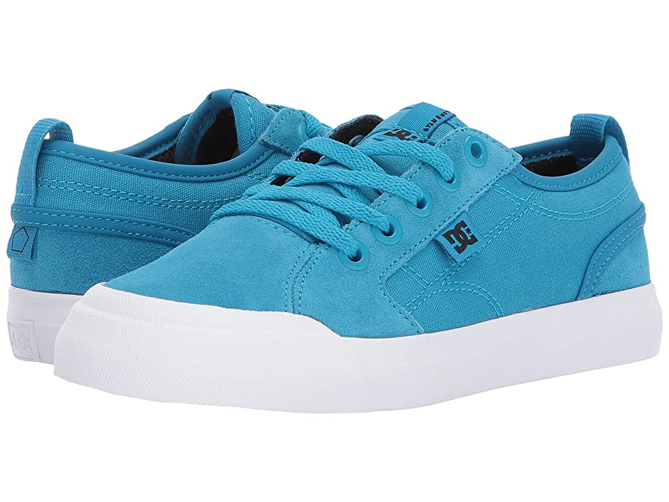 DC Kids Evan (Little Kid/Big Kid) (Blue) Boys Shoes