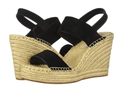 Kenneth Cole New York Olivia Simple Espadrille (Black Suede) Women