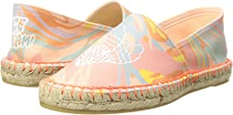Rae Marble Print Espadrilles w/ Ice Cream Cones (Big Kid)