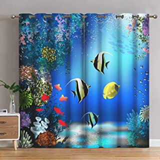 Best fish bedroom curtains Reviews