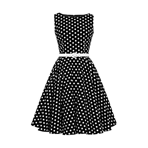 best loved 62b1a 01280 Vestito a Pois: Amazon.it