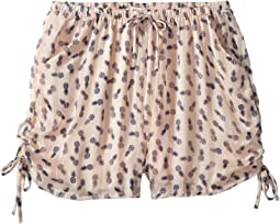 People's Project LA Kids Tropical Day Woven Shorts (Big Kids)