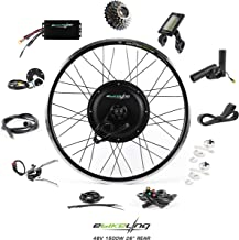 "EBIKELING 48V 1500W 26"" Direct Drive Waterproof Electric Bike Kit - Ebike Conversion Kit - Electric Bike Conversion Kit (R..."