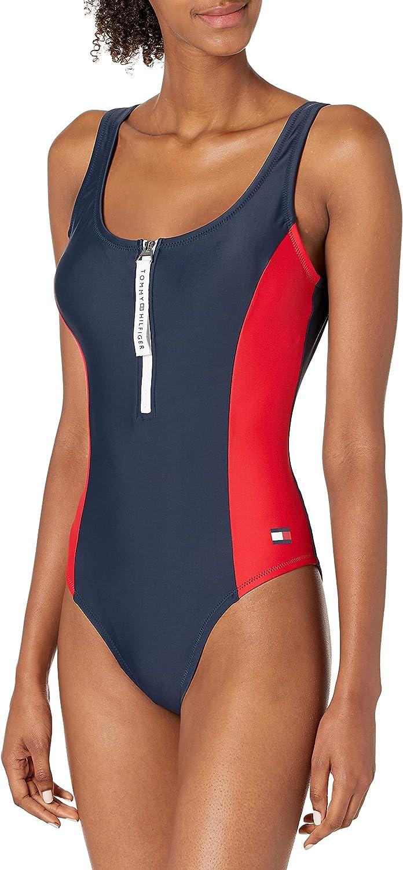 Tommy Hilfiger Women's One Piece Swimsuit
