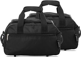 comprar comparacion Aerolite Bolsa de Mano para Ryanair y Vueling 35x20x20 Tamaño Máximo Maletas de Cabina 14L (2 x Negro)