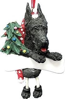 Great Dane Ornament Black with Unique