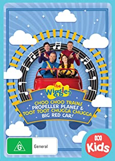 Wiggles, The: Trains, Planes & Car