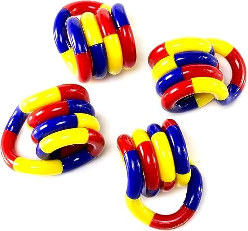 contador genuino Set of 3  Tangle Jr. Original Fidget Toy Toy Toy by Tangle  nuevo sádico