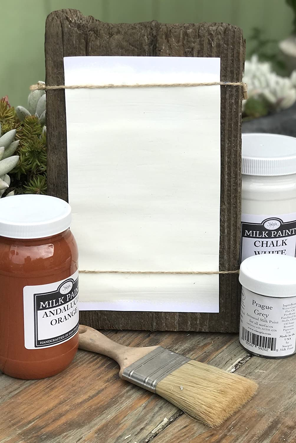Sinopia All Natural Artisanal Our shop most popular 70% OFF Outlet Milk 32oz. White Paint Chalk