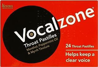 12 x Vocalzone Throat Pastilles 24 Throat Pastilles