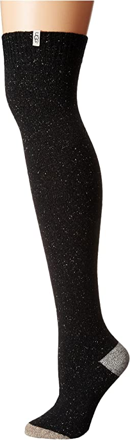 UGG - Color Block Rib Over the Knee Socks