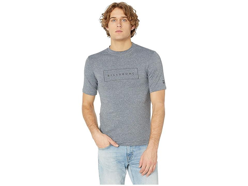 Billabong United Loose Fit Short Sleeve (Grey Heather) Men