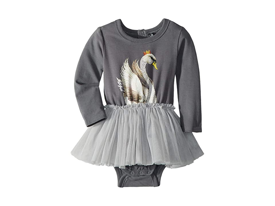 Rock Your Baby Swan Lake Circus Dress (Infant) (Grey) Girl