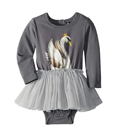 Rock Your Baby Swan Lake Circus Dress (Infant) (Grey) Girl