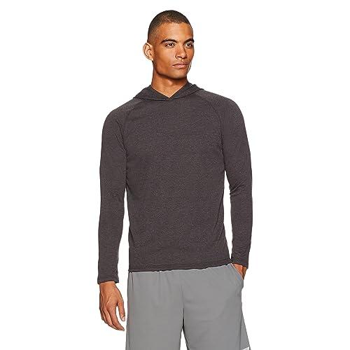 7600c38324d0 Amazon Essentials Men s Performance Hooded Shirt