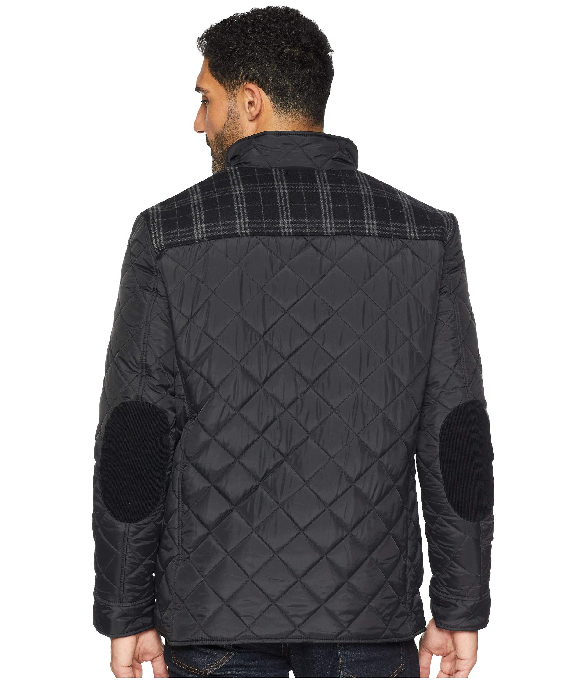 Jacket Cole Media Black Haan Quilted Multi Mixed pockets w6qYnr67