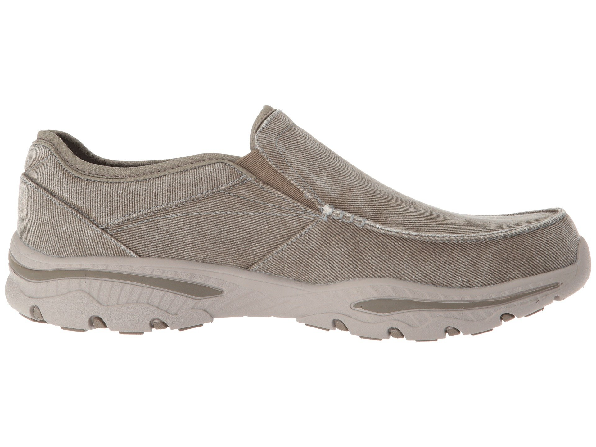 Creston Skechers Fit Taupe Relaxed Moseco X71nxS7r