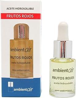 comprar comparacion Ambientair. Aceite perfumado hidrosoluble 15ml. Aceite hidrosoluble Frutos Rojos para humidificador de ultrasonidos. Perfu...