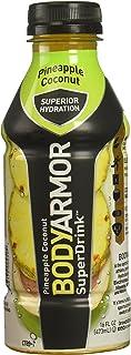 BodyArmor SuperDrink, Pineapple Coconut, 16 Fl Oz (Pack of 12)