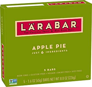 Larabar, Gluten Free Bar, Apple Pie, Vegan (5 Bars)