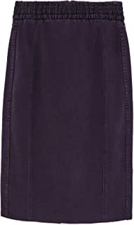 Bimba y Lola Women Violet Denim Pencil Skirt 192BR4814