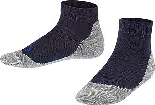 35-38 Weiss FALKE Unisex Kinder Active Soccer Socken White 2000