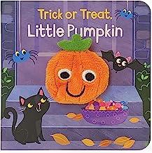 Trick or Treat, Little Pumpkin (Finger Puppet Board Books) (Children's Interactive Finger Puppet Board Book)