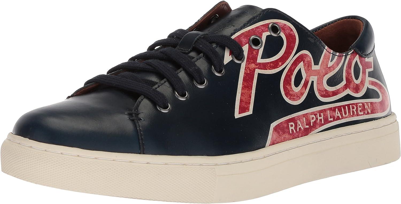 Polo Ralph Lauren Mens Jermain Sneaker