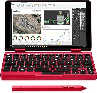 One-Netbook OneMix 2S錦鯉限定版+レッドスタイラスペンセット Windows10搭載 超小型 ノートパソコン タブレットPC 2in1 PC 大幅に性能アップした2代目 7インチUMPC Core m3-8100Y 8GBメモリ 512GBPCIeSSD 360度YOGAモード 2048レベル筆圧ペン レッド