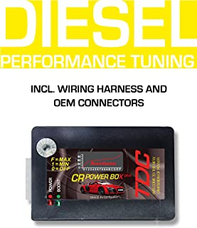 Digital Power Box CRplus Diesel Chiptuning Common Rail Tuning Chip for VW Volkswagen Touareg 3.0 TDI 165 KW / 225 PS / 500 NM - Plug and Drive