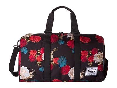 Herschel Supply Co. Novel (Vintage Floral Black) Duffel Bags