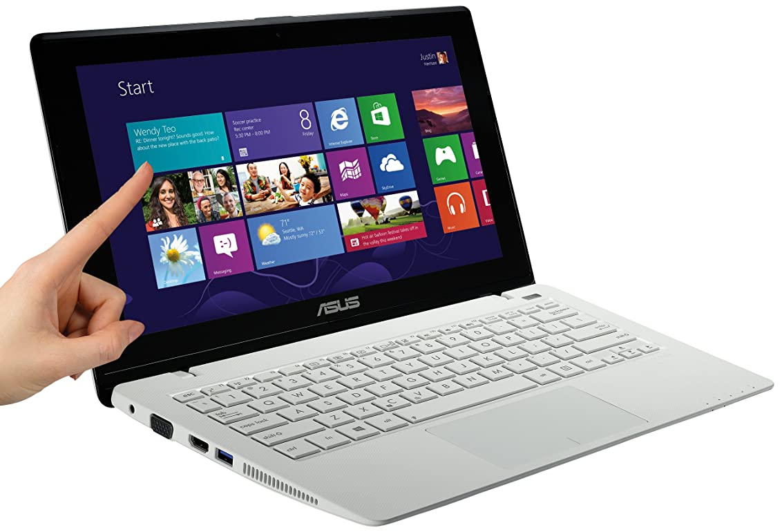 ボルト縮約永遠にASUS 200CA-CTWHITE NB / white  [Windows10無料アップデート対応](WINdows8 64bit / 11.6 inch touch / 2117U / 4G / 500GB) X200CA-CTWHITE