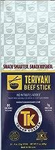 Tomer Kosher Beef Sticks, 100% USA Beef, MSG, Soy Free, No Nitrates Added (Teriyaki, 24 Count, .9 oz Jerky Stick)