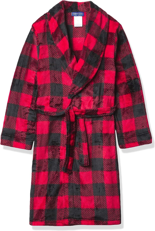 Eve Boys Saint Eve Velvet Fleece Hooded Robe St