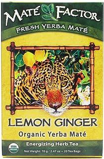 The Mate Factor Lemon Ginger Organic Mate