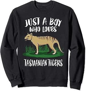 Just A Boy Who Loves Tasmanian Tigers Gift Sweatshirt