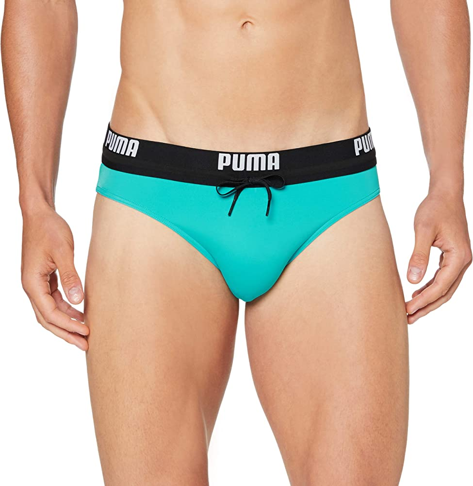 Puma logo men`s swimming brief , costume da bagno per uomo , 80% poliammide, 20% elastan 100000026C