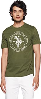 U.S. Polo Assn. Men's Solid Regular Fit T-Shirt