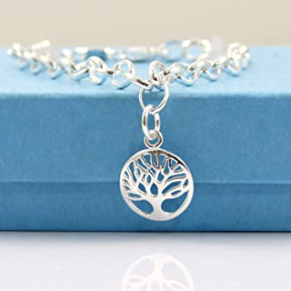 a186660a3 925 Sterling Silver Tree of Life Bracelet - Gift Boxed - Ready to Ship
