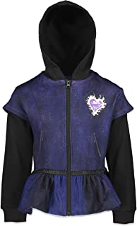 Disney Descendants 3 Girls Fleece Zip-up Costume Hoodie