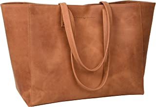 Antonio Valeria Avery Leather Leather Tote/Top Handle Shoulder Bag for Women