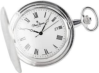 Pierre Laurent Swiss Made Sterling Silver Quartz Pocket Watch