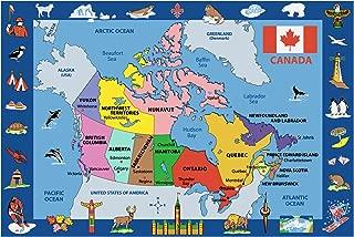 Fun Rugs Map of Canada 51
