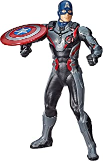 "Best Avengers Marvel Endgame Shield Blast Captain America 13""-Scale Figure Featuring 20+ Sounds & Phrases Review"