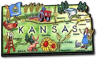 ARTWOOD MAGNET - KANSAS STATE MAP