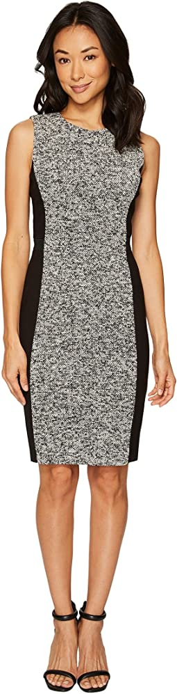 Calvin Klein - Tweed Sheath Dress