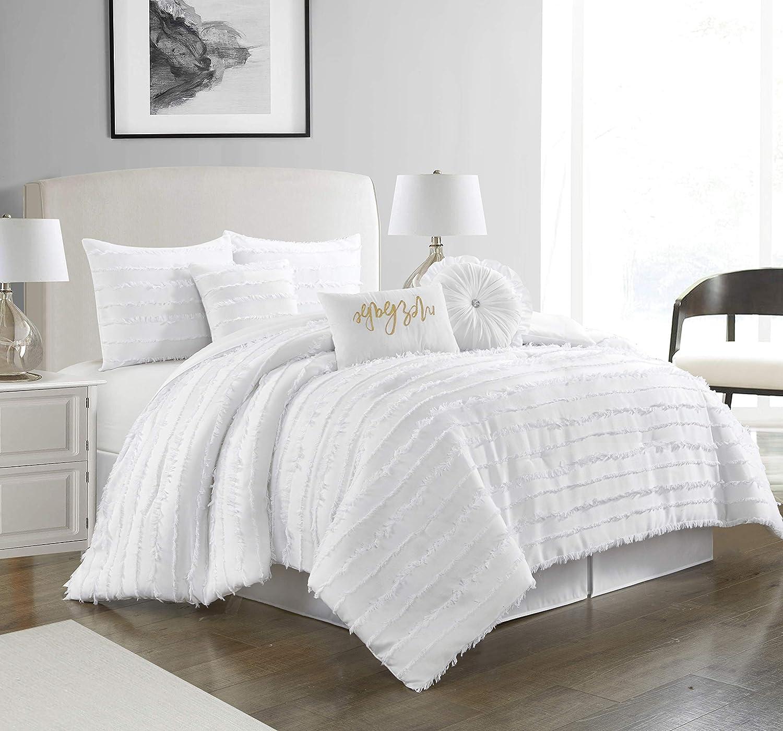 Stratford Park Silky Amber 7-Piece Bedroom Comforter Bedding Branded goods Super beauty product restock quality top! Set